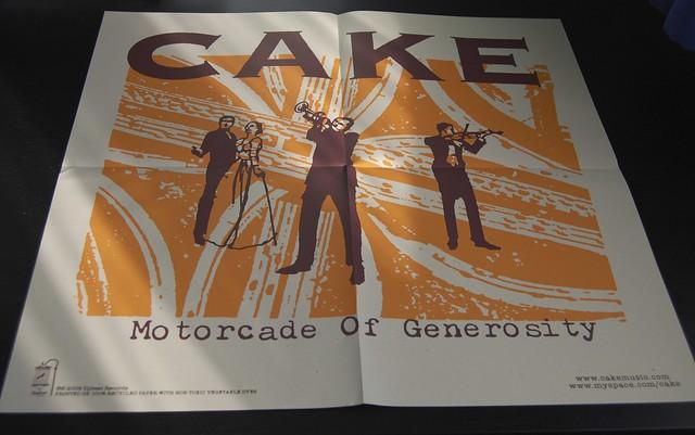 Cake Motorcade Of Generosity Zip