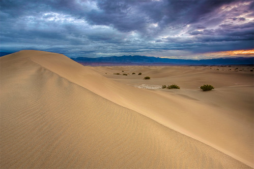 Stormy Mesquite Dunes - Death Valley