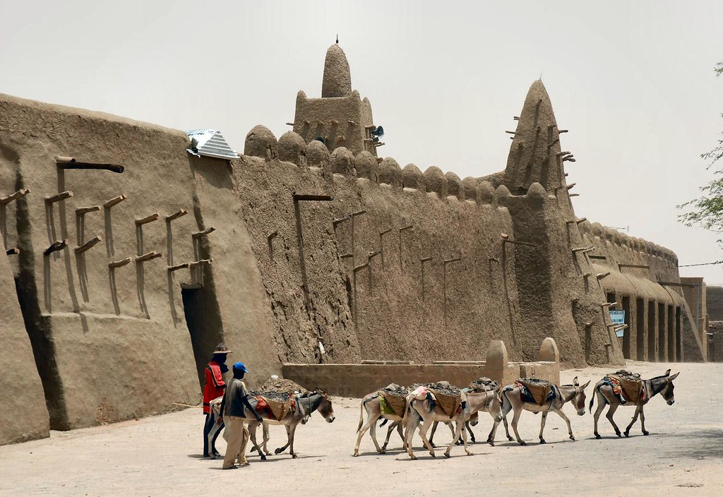 Timbuktu preferred method of transport, Mali, W. Africa