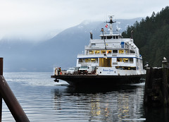 Bowen Queen on her Original Route to Bowen Island