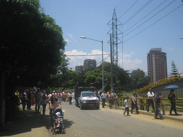 Procession for Semana Santa