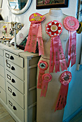 Roseville Antique Faire 39 Prize Ribbons