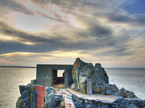 Bunker on a Headland, courtesy of neilalderney123 on flickr