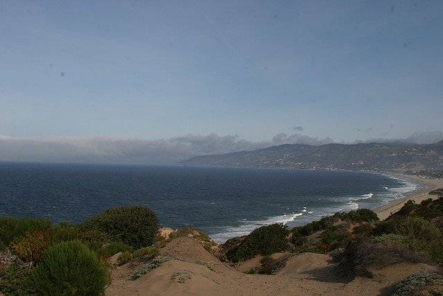 the view at Point Dume