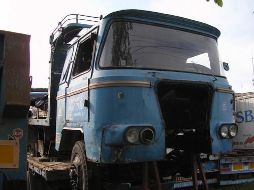 camió Nazar a La Bisbal d'Empordà (Girona)