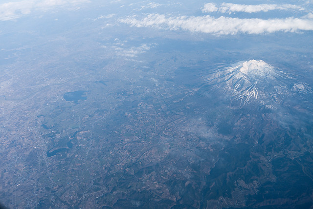 Photo:Tsugaru plain and Mt. Iwaki By:double-h