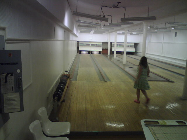 bowling alley in the basement of hadley hall flickr