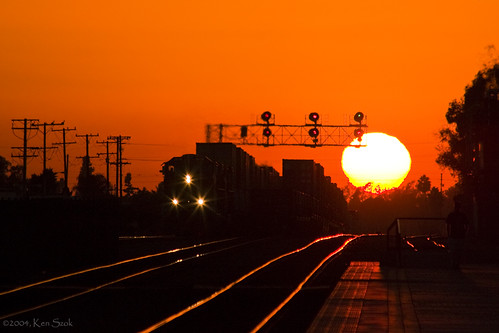 california sunset canon outdoors lowlight sunsets socal canondslr fullerton locomotives railroads bluemoon fullertoncalifornia alltrains bluemoonrising mywinners movingtrains californiafullerton aphotographersnature