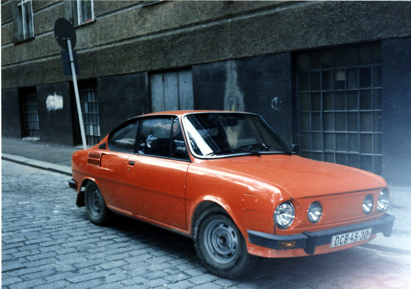 Car In Prague 2