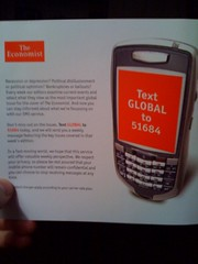 Economist SMS ad part 2 | by MattDickman