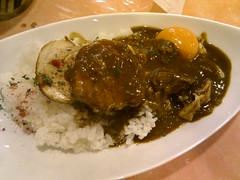 meal, curry, steamed rice, meat, food, dish, cuisine,