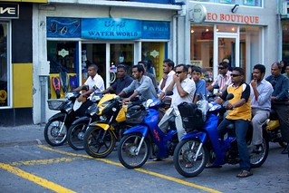 Traffic in Maldives