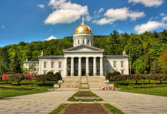 Montpelier VT. - Vermont State House Capitol 02