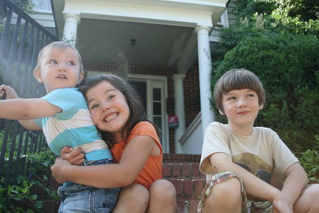 Image of my three kids