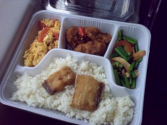 meal, lunch, steamed rice, ekiben, makunouchi, food, dish, cuisine, bento,