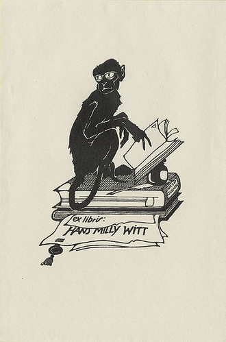 [Bookplate of Hans Milly Witt]