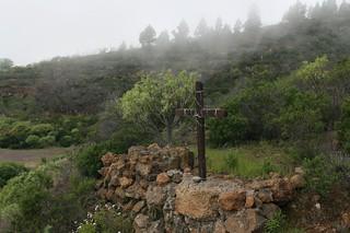 Изображение на Cruz de Afoña. hiking canarias tenerife senderismo arafo etnografía unidadambientaljaralesyescobonales