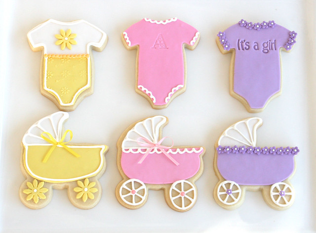 baby shower cookies flickr photo sharing