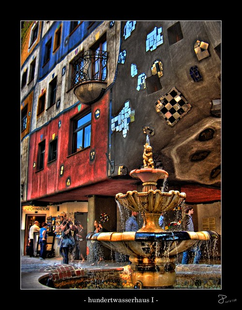 Hundertwasser Floors Vienna On Flickr Photo Sharing