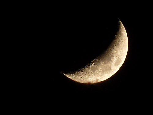 Waxing Crescent Moon (Day 303/365)