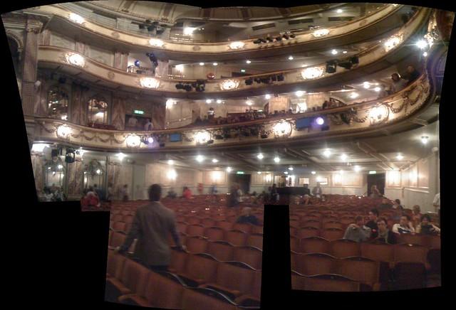 The novello theatre b flickr photo sharing for Balcony novello theatre