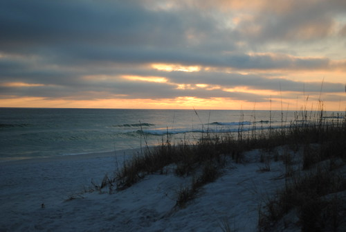 sunset florida destin