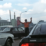 Onitsha Anambra State South Eastern Nigeria Oct 27 2002 965 Nigerian Traffic near Neni