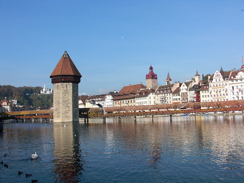 Luzern with Jessica