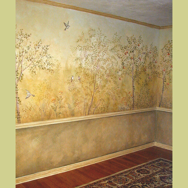 Wall Stencils For Dining