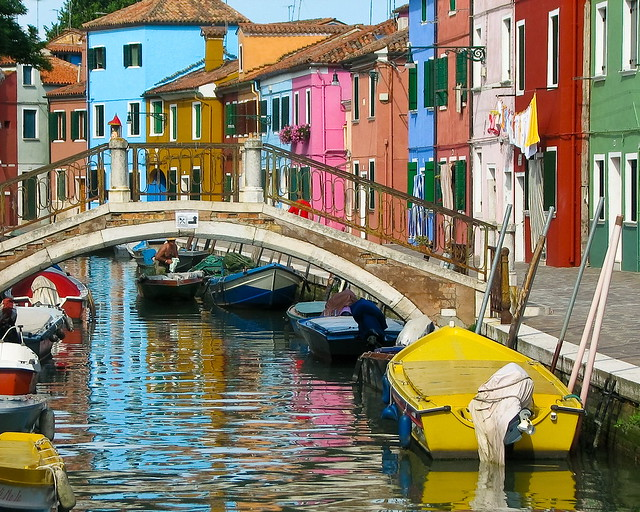 Burano Island In Venece Italy Flickr Photo Sharing