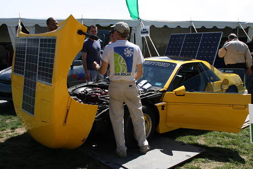 Solar - Electric Car on Mall