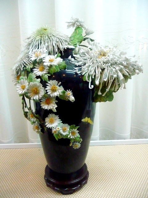 Bird and flower vase - ceramic - GoSale - Comparison Shopping