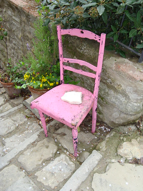 La sedia rosa flickr photo sharing for Sedia rosa