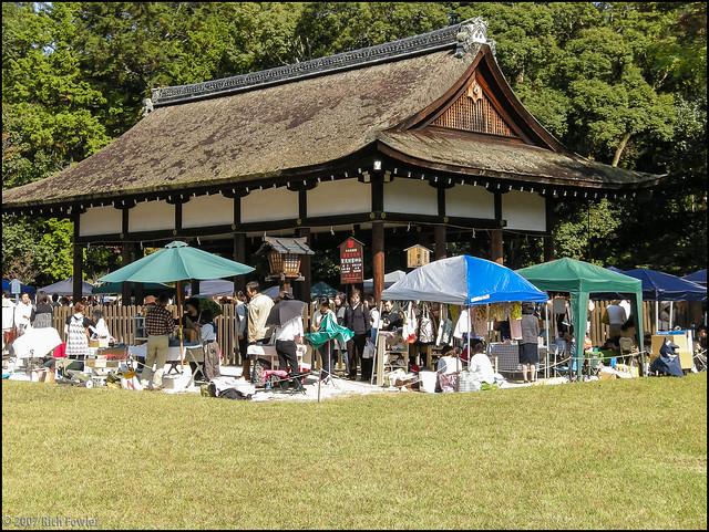 Kamigamo Shrine Craft Fair