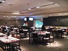 Inside the Delta Club at Citi Field.