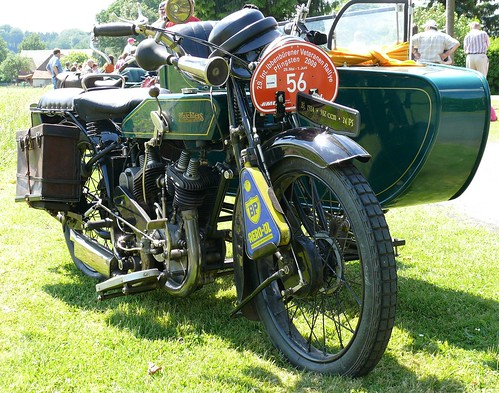 Matchless M3 1924 green vr