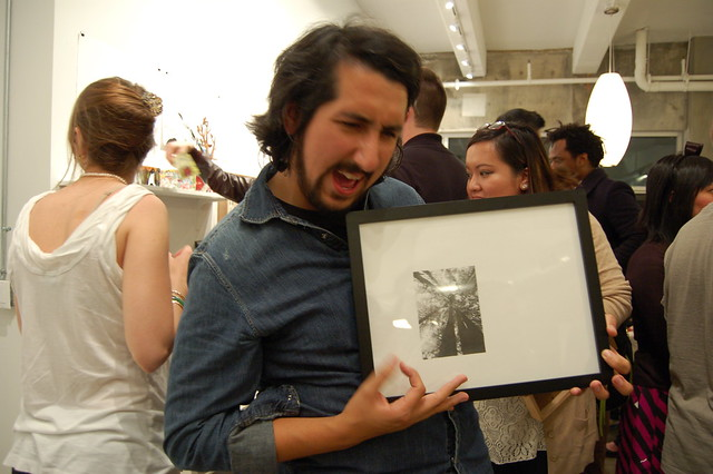 Florencio Zavala rocking his Marissa Textor drawing