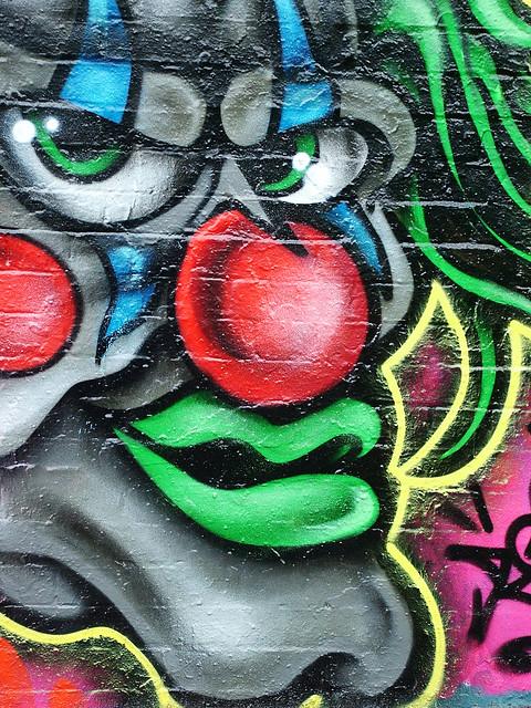 rasta-clown graffiti | Flickr - Photo Sharing!