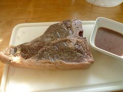 meal(0.0), baking(0.0), fish(0.0), pã¢tã©(0.0), breakfast(1.0), steak(1.0), food(1.0), dish(1.0), cuisine(1.0), animal fat(1.0),