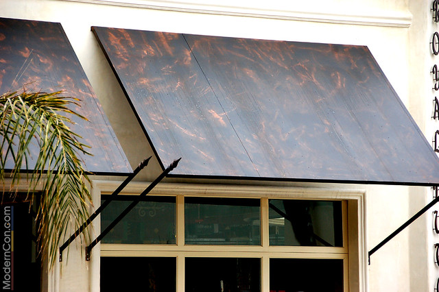 Royal Dutchess Sheet Metal Awning 02 | Flickr - Photo Sharing!