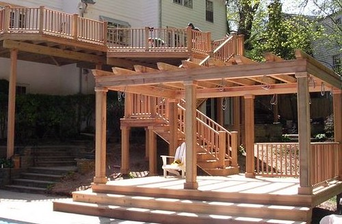 Deck Arbor And Trellis A Gallery On Flickr