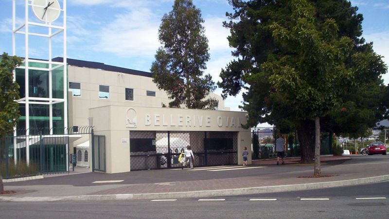 Main Entrance to Bellerive Oval