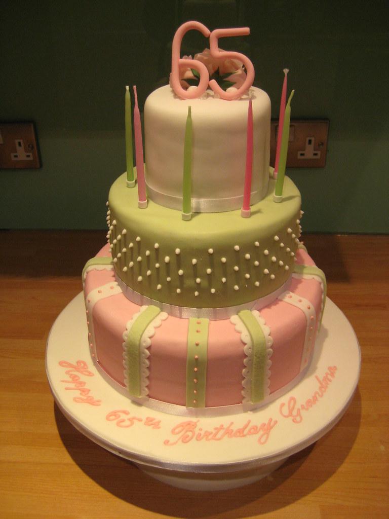 My Mums 65th Birthday Cake
