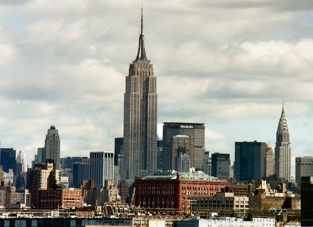 new york city skyline with empire state building flickr. Black Bedroom Furniture Sets. Home Design Ideas