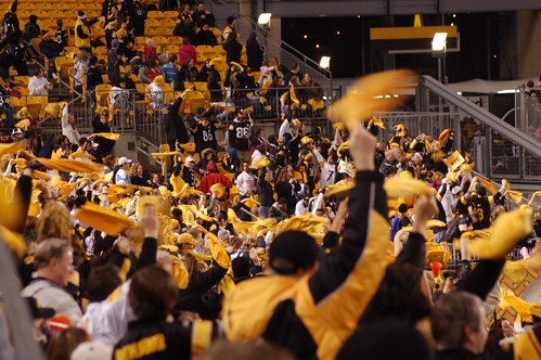 The Steeler Nation Warms Up