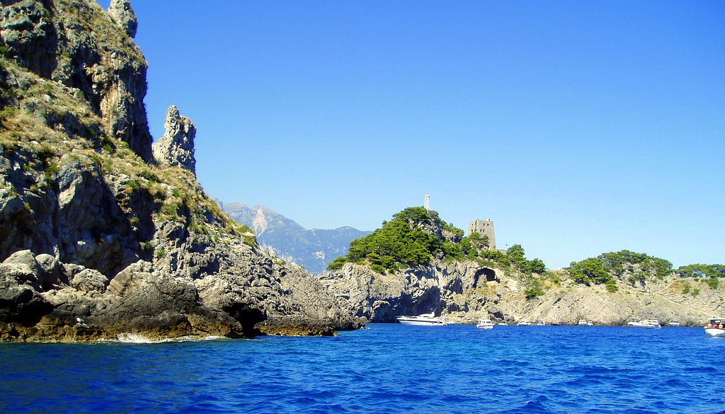 Islands  Li Galli , Italy