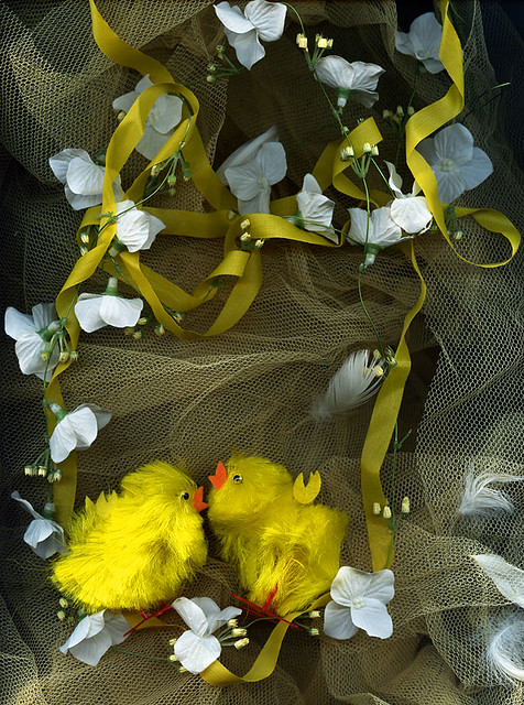 EASTER TWINS ATWITTER... by magda indigo