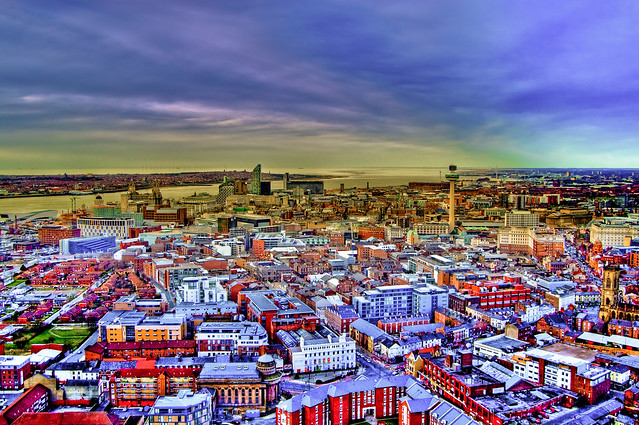 View of Liverpool by Flickr CC Eric The Fish