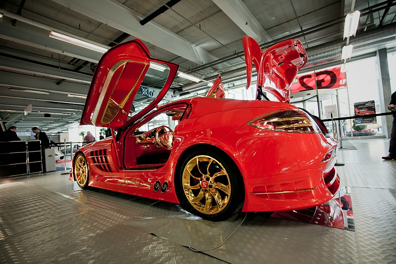 Anliker McLaren SLR 999  Red Gold Dream
