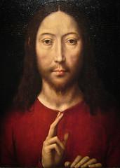 Hans Memling, Christ Blessing, 1481